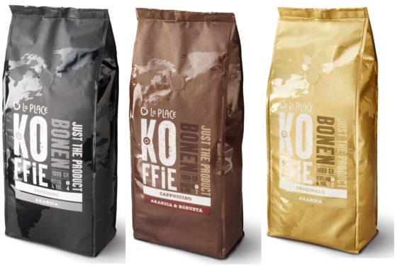 Koffie eerste La Place-product op Jumboschap