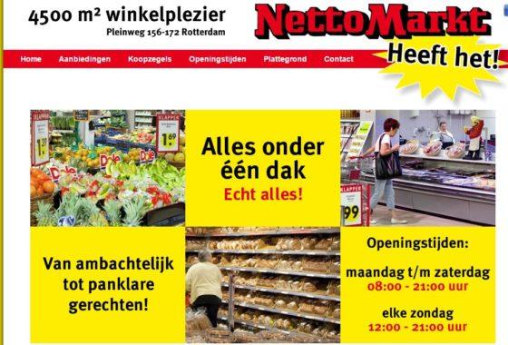 Top Tien: grootste supermarkten van Rotterdam