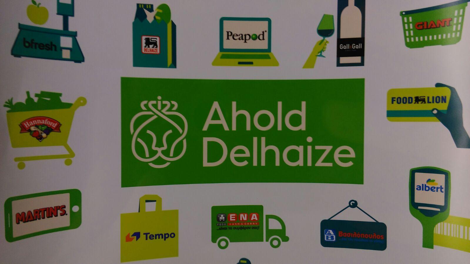 De merken van de nieuwe combinatie Ahold Delhaize