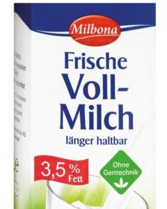 De Lidl-melk met 'Ohne Gentechnik'-label