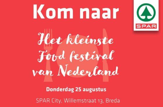 Spar start met kleine foodfestivals
