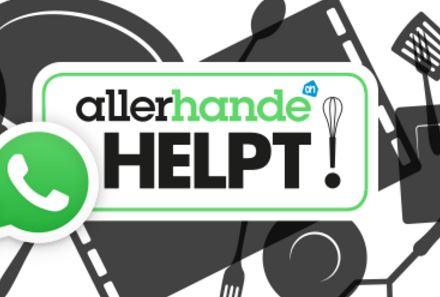 Allerhande helpt via WhatsApp met koken
