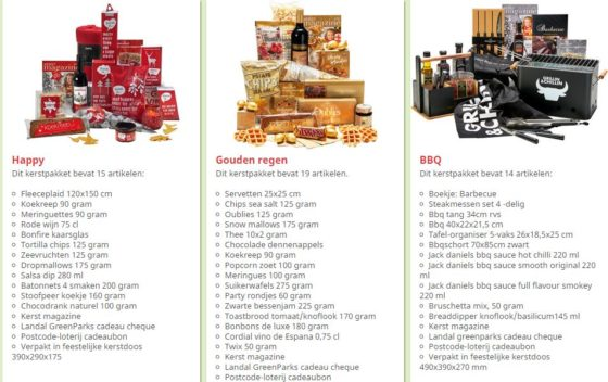 Plus Gaat Online Kerstpakketten Verkopen Distrifood