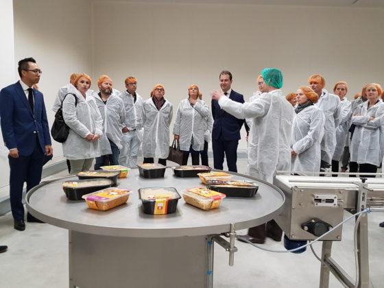 Nieuwe fabriek Plaza Foods geopend