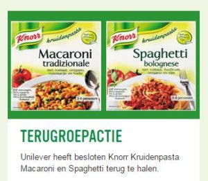 Recall Knorr