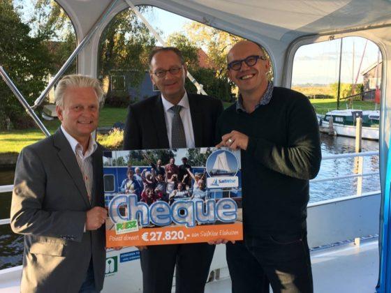 Poiesz steunt SailWise met €28.000