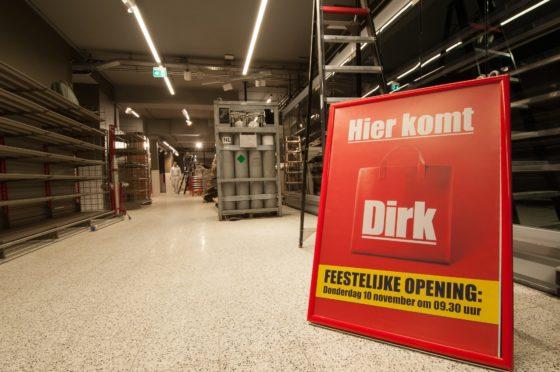 Stadswinkel Dirk opent 10 november