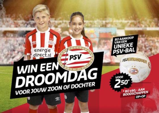 Jumbo biedt kinderen voetbalclinic bij PSV