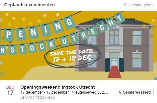 Instock opent december in Utrecht
