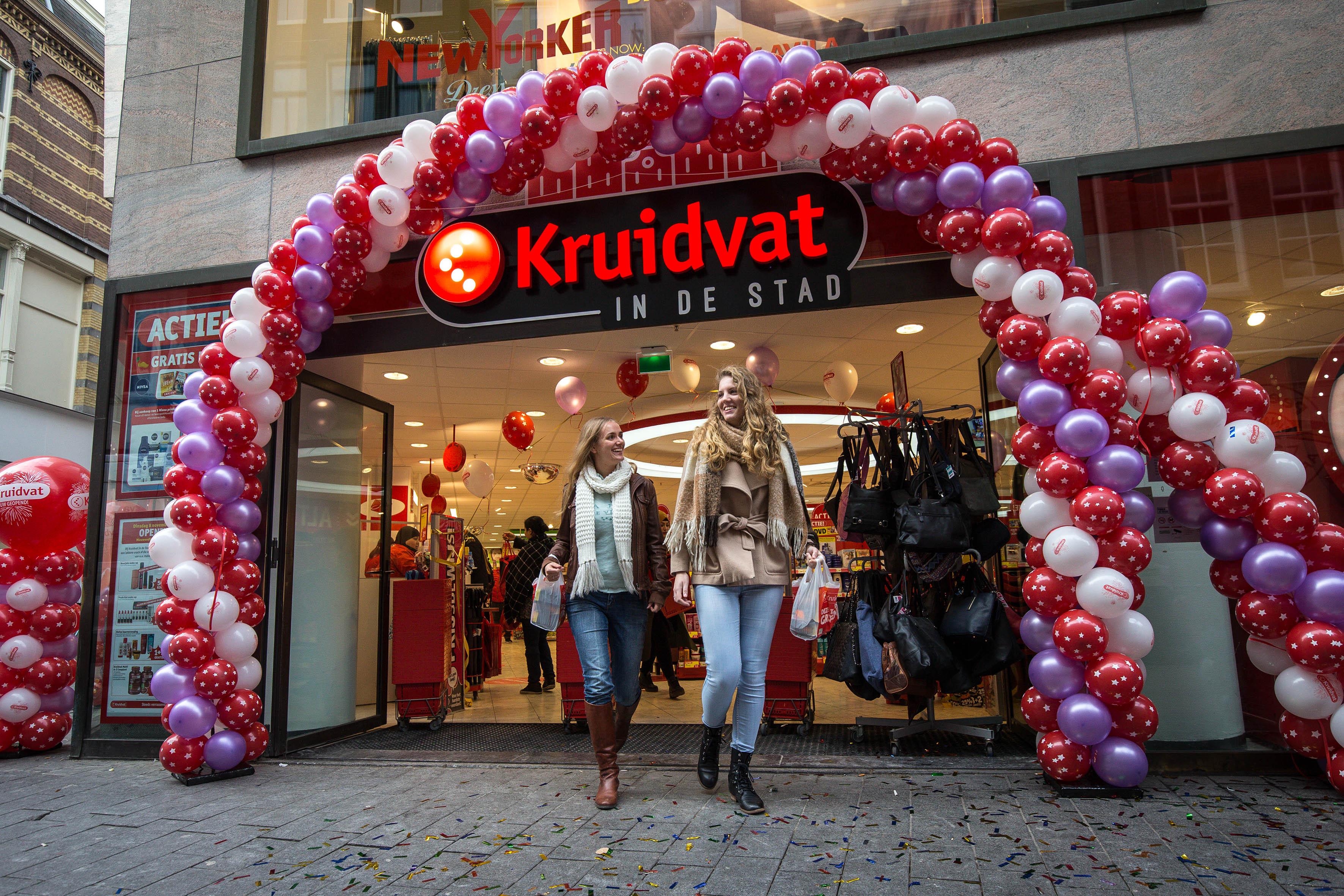 Kruidvat vernieuwt winkelconcept, winkel Roermond blauwdruk