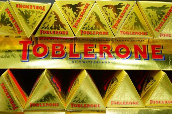 Golf van kritiek op besluit over Toblerone