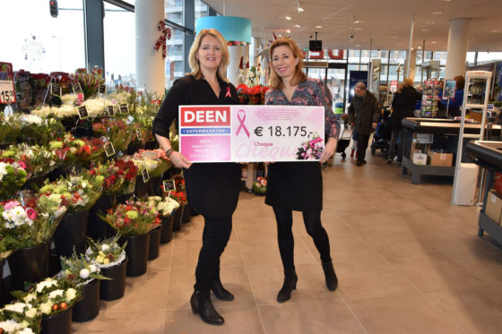 Deen doneert € 18.175 aan Pink Ribbon