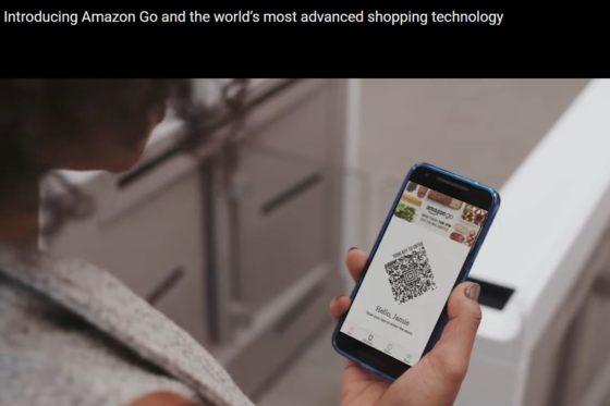 Toch mensen nodig in kassaloze super Amazon