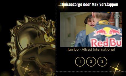 Jumbo met vier spotjes in race voor Gouden Loeki