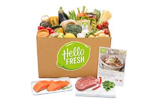 HelloFresh in zee met Sainsbury's
