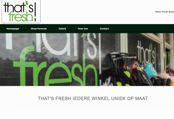 Derde winkel voor nieuwe formule That's Fresh