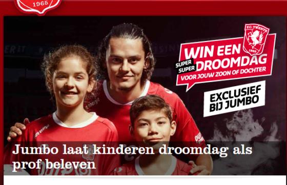 Tweede Droomdag Jumbo: nu bij FC Twente