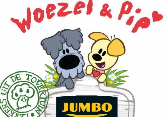 Jumbo zet kinderhelden Woezel & Pip in