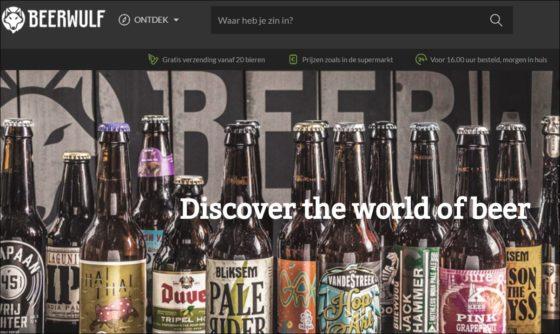 Heineken financiert web-bierwinkel Beerwulf