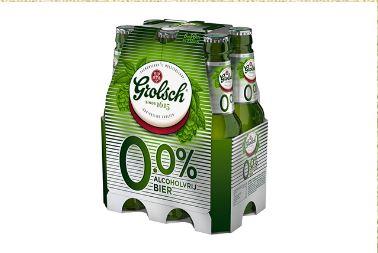 Grolsch vervangt Stender voor 0.0%