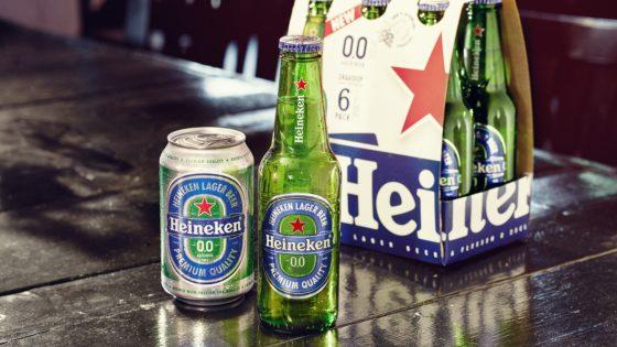 Heineken lanceert 'blauw' Heineken 0.0