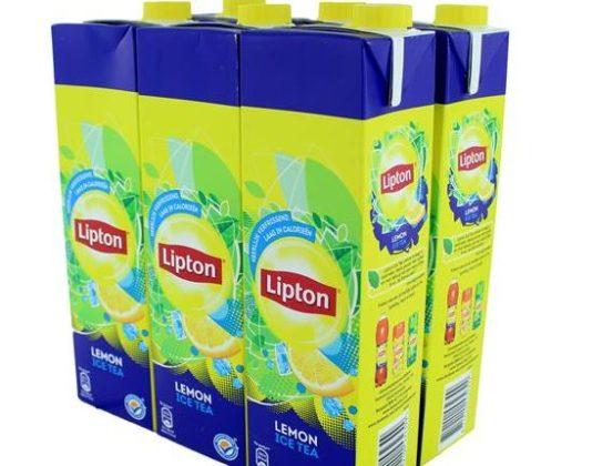 Veel minder suiker in Lipton Ice Tea