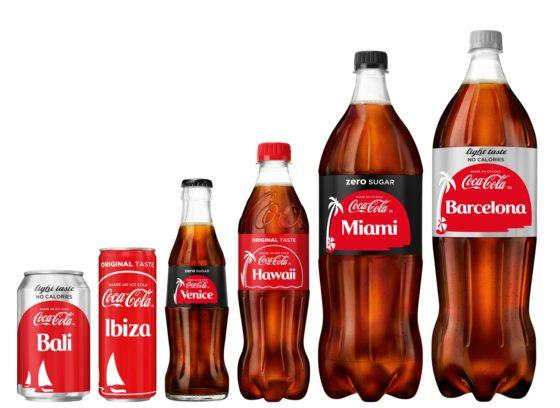 Coca-Cola vervangt logo op product