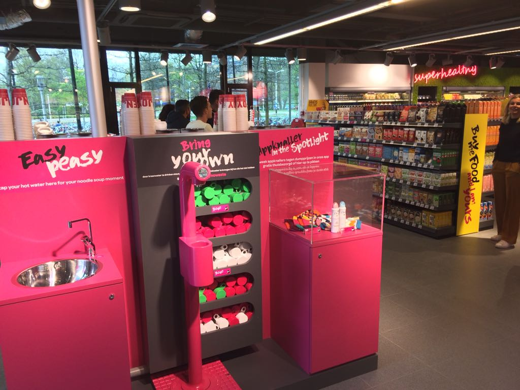 Spar University Nijmegen - Easy Peasy - Foto: Distrifood