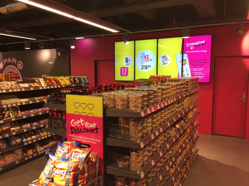 Spar University Nijmegen - get your discount - Foto: Distrifood