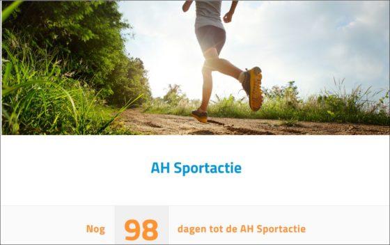 Albert Heijn bereidt AH Sportactie voor