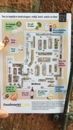 Foodmarkt city by jumbo plattegrond 236x420