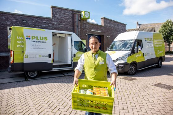 Plus start campagne rond Plus Express