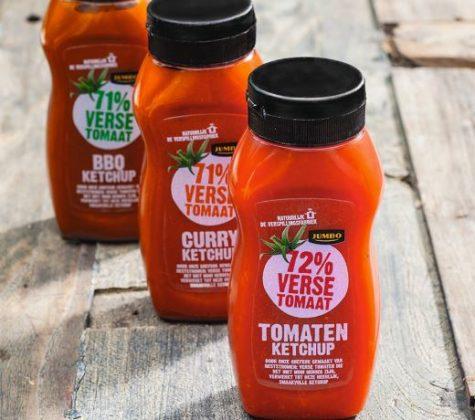 Tomatenketchup Jumbo van resttomaten