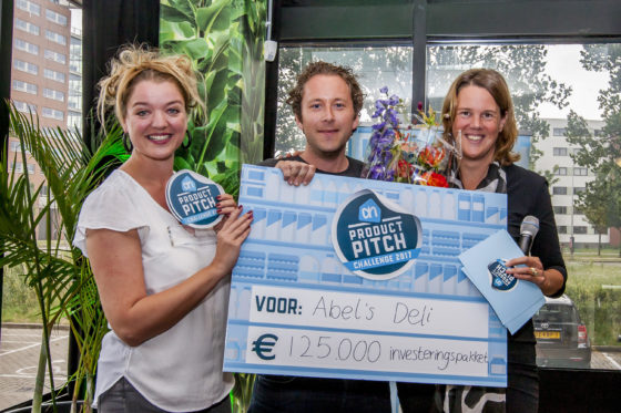 'Abel's Deli' wint AH Product Pitch 2017