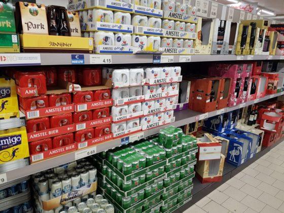Aldi verkoopt zowel Heineken als Amstel
