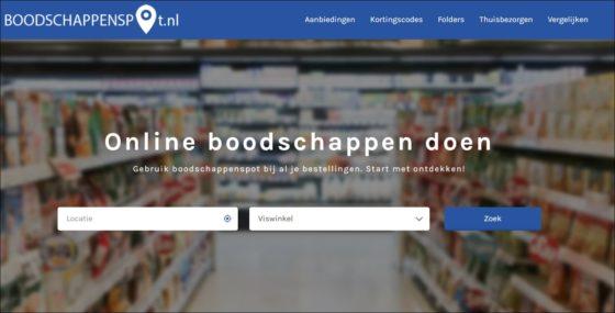 Boodschappenspot.nl: websupers bij elkaar