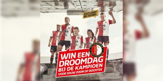 Derde Droomdag Jumbo bij Feyenoord