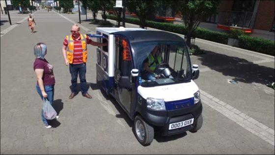 Ocado test zelfrijdende bezorgauto