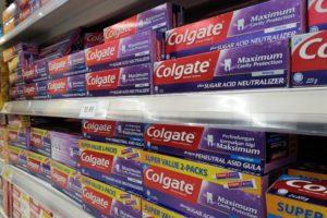 Omzetdaling voor Colgate-Palmolive