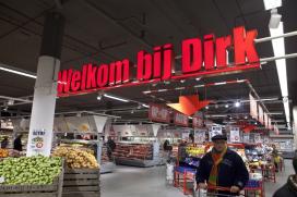 Dirk schrapt kiloknaller van voorpagina folder