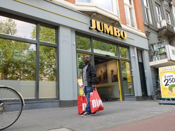 Dirk klant voor jumbo stadhouderskade amsterdam 2 560x420