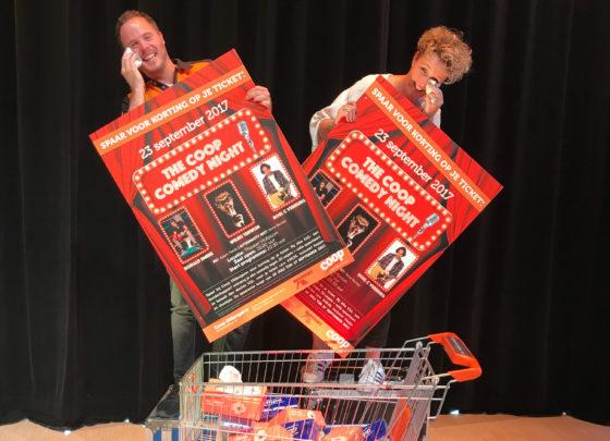 Klanten Oldengarm sparen voor Coop Comedy Night
