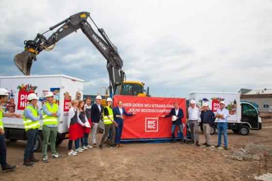 Picnic start bouw eerste eigen dc in Utrecht