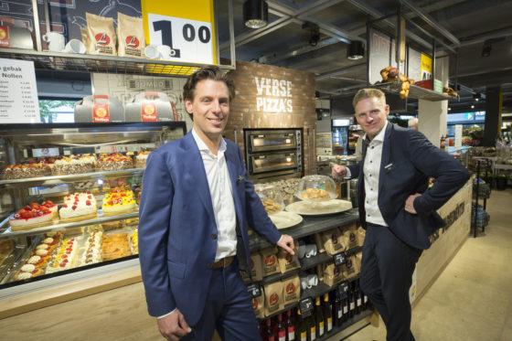 Niek (l) en Tijn Leussink. Foto: Koos Groenewold.