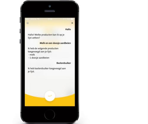 Jumbo lanceert voice-technologie in z'n app