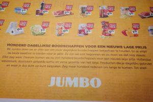 'Jumbo schoot weinig op met prijsoffensief'
