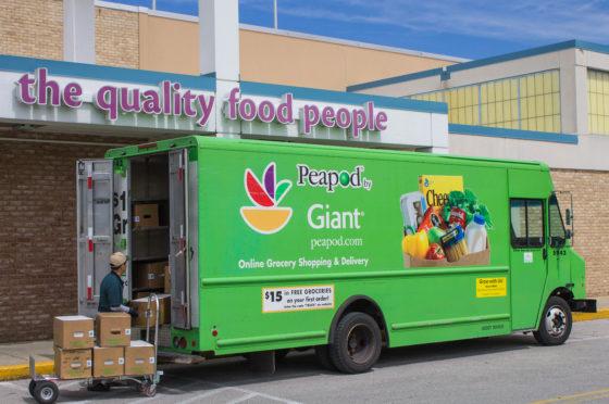 Peapod met Campbell's en Kraft in maaltijdpakketten