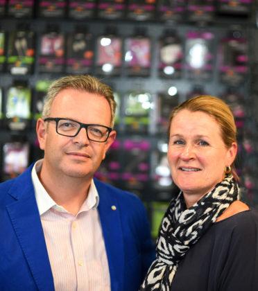 Salesmanager Remco Smit en Marketing Manager Brenda van Leeuwen.