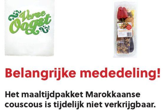 Supers halen Marokkaanse maaltijden uit schap