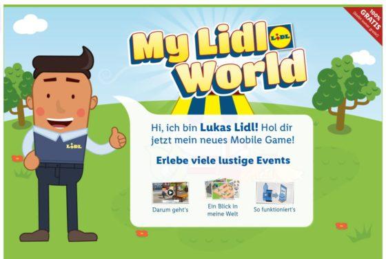 Lidl (D) lanceert app om supermarktje te spelen